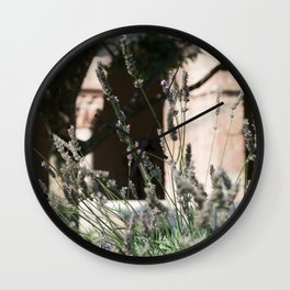 Lavender of Cloisters Wall Clock