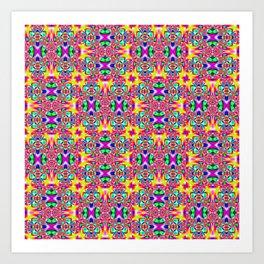 4x4-7 Art Print