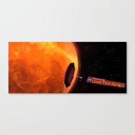 Parker Solar Probe Canvas Print