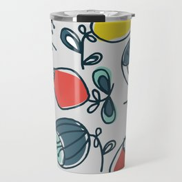 small, thick ballflower Travel Mug