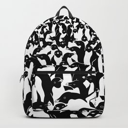 meanwhile penguins Backpack