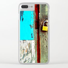Lottery. Clear iPhone Case