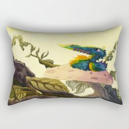 Derp Bird Rectangular Pillow