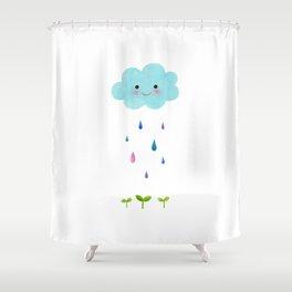 Rain Cloud Shower Curtain
