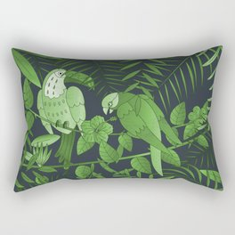 Tropical Paradise Pattern 4 Rectangular Pillow