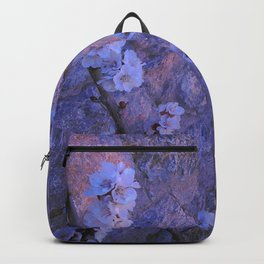 Pear Blossoms Lilac Backpack