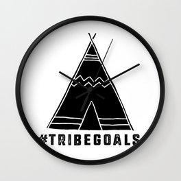 Tribe Goals Wall Clock