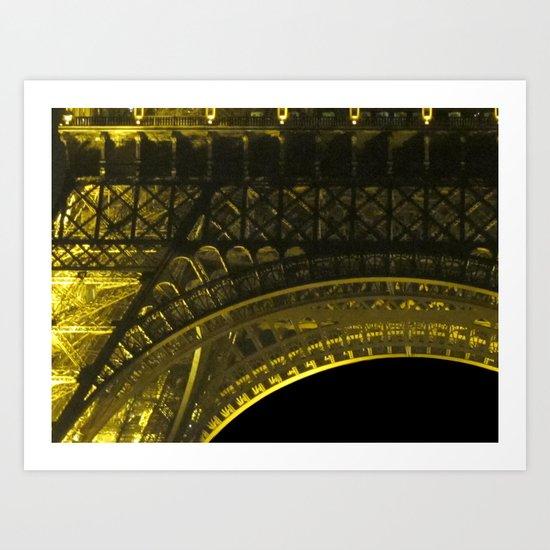 Under The Tower Art Print