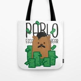 Pablo Escobear Tote Bag