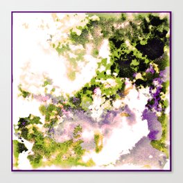- minimal night - Canvas Print