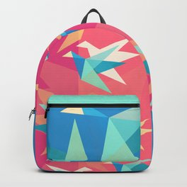 Vivid Pink Paper Cranes Backpack