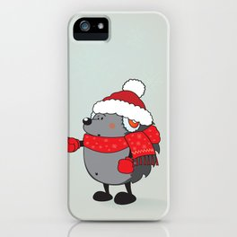 Is that Santa ?!? iPhone Case