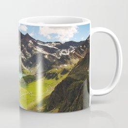 Alps aerial view Coffee Mug
