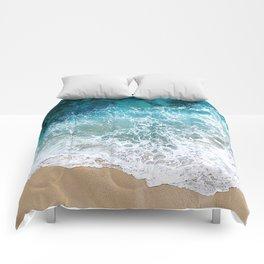 Ocean Waves I Comforters