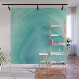 Geode Crystal Turquoise Wall Mural