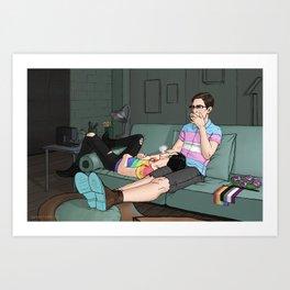 Pride Month  Art Print