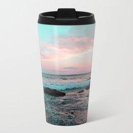Pink and Blue Sunset Over Newport Rhode Island No2 Travel Mug