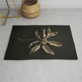 Dried Clematis Flower Rug