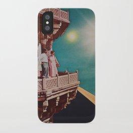 Emerald sky iPhone Case