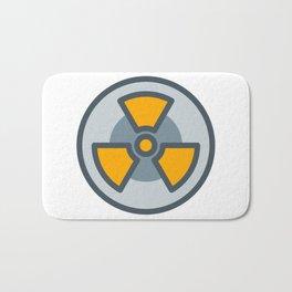 nuclear icon Bath Mat