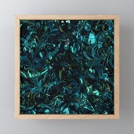 Abstract Mandala 4 Framed Mini Art Print