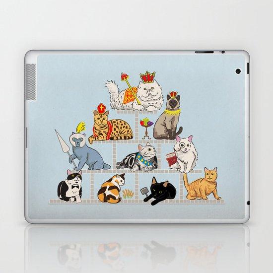Cats Pyramid Laptop & iPad Skin