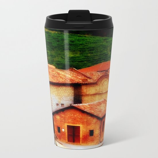Italian Farmhouse Metal Travel Mug