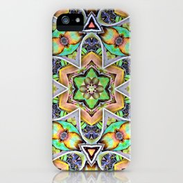 Natural Pattern No 2 iPhone Case