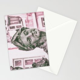 statue Lisbon Stationery Cards