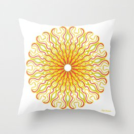 Stand By Me al amanecer Throw Pillow