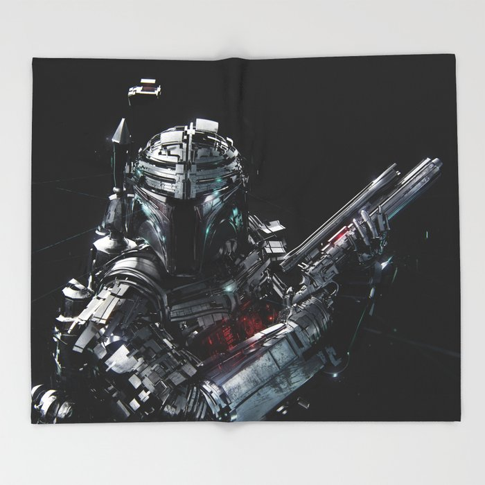 Boba Fett Throw Blanket