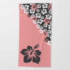 Hibiscus'garden Beach Towel