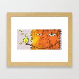 farewell spirit flame Framed Art Print