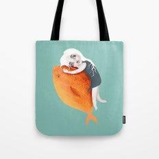 The Fish Girl Tote Bag