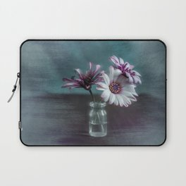 Dasies in vial Art Laptop Sleeve