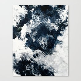 Black And White #3 Canvas Print