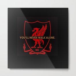 #YNWA Metal Print