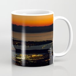 Vancouver at Sunset Coffee Mug