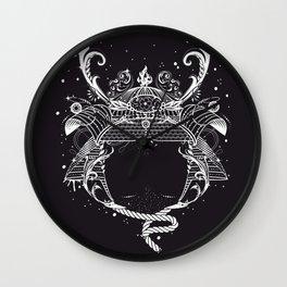 Samurai helmet - Kabuto - Wall Clock