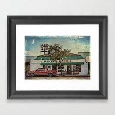 Bronx Pizza Framed Art Print