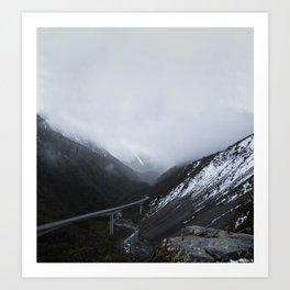 Mountain Series - Arthur's Pass Art Print