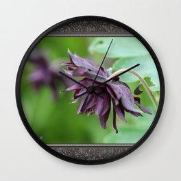 Columbine named Miss M.I. Huish Wall Clock