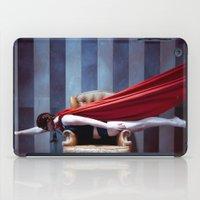 hero iPad Cases featuring HERO by Bárbara Traver