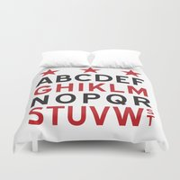 dc Duvet Covers featuring DC Streets by SquibInk