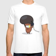 BRUNO White SMALL Mens Fitted Tee