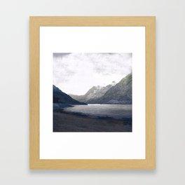 In the deep heart's core Framed Art Print
