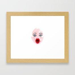 UNTITLED K Framed Art Print