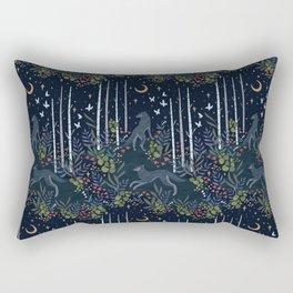 Midnight Exploration Rectangular Pillow