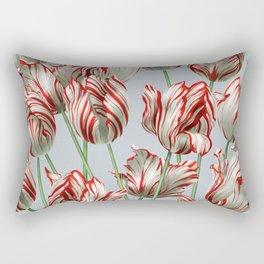 Semper Augustus Tulips Rectangular Pillow
