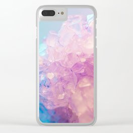 pastel crystals #society6 #decor #buyart Clear iPhone Case
